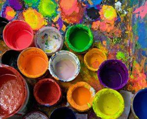 art studio paints