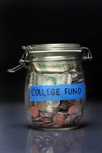 my college fund jar!