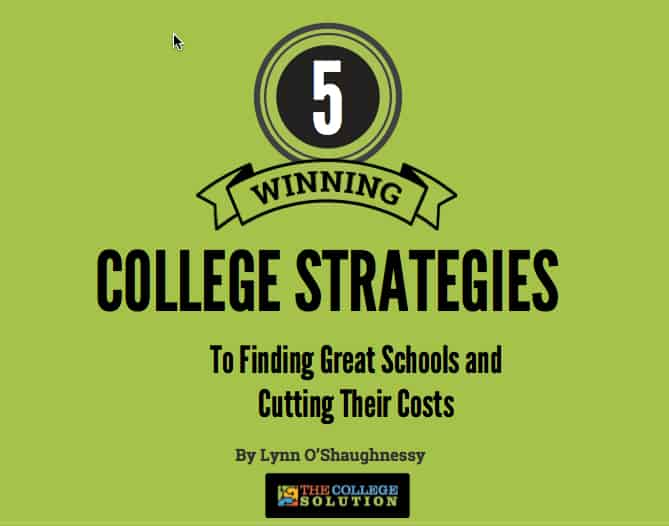 """Featured image for """"Discover Five Winning College Strategies"""""""